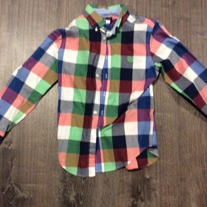 Boys Chaps Flannel/Dress Shirt